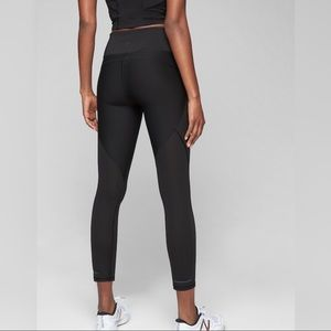 Athleta Stealth S Black 7/8 Pants